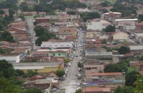 1 de Outubro - Vista panorâmica da cidade — Campos Belos (GO)— 63 Anos em 2017.