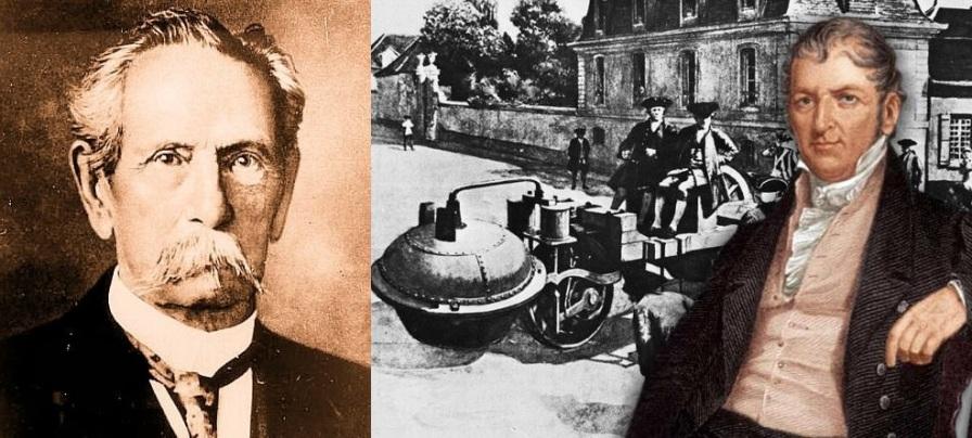 2 de Outubro - 1804 — Nicolas-Joseph Cugnot, inventor francês (n. 1725).