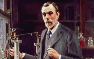 2 de Outubro - 1852 – William Ramsay, químico britânico (m. 1916).