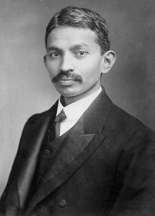 2 de Outubro - Mahatma Gandhi - 1869 – 148 Anos em 2017 - Acontecimentos do Dia - Foto 5.