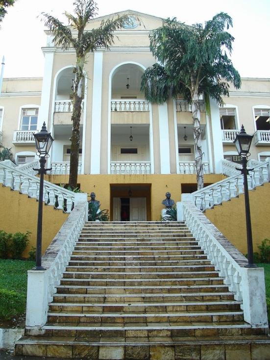 2 de Outubro - Palácio Getúlio Vargas, antiga sede do Governo de Rondônia. Hoje, Museu Palácio da Memória Rondoniense — Porto Velho (RO) — 103 Anos em 2017.