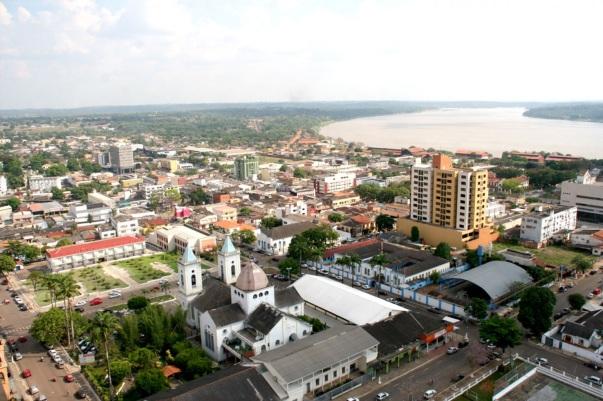2 de Outubro - Vista panorâmica da cidade — Porto Velho (RO) — 103 Anos em 2017.