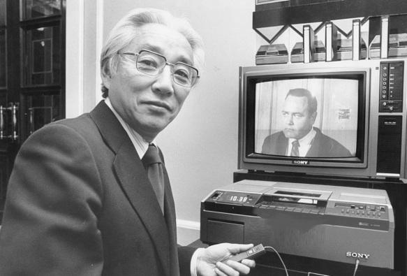 3 de Outubro - 1999 — Akio Morita, inventor e empresário japonês (n. 1921).