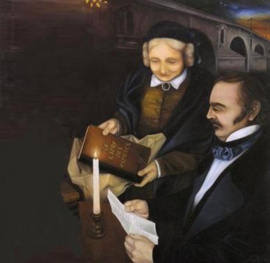 3 de Outubro - Allan Kardec - 1804 – 213 Anos em 2017 - Acontecimentos do Dia - Foto 6 - Allan Kardec e sua esposa Amélie Gabrielle Boudet.