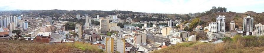 3 de Outubro - Vista parcial do centro da cidade — Barra Mansa (RJ) — 185 Anos em 2017.