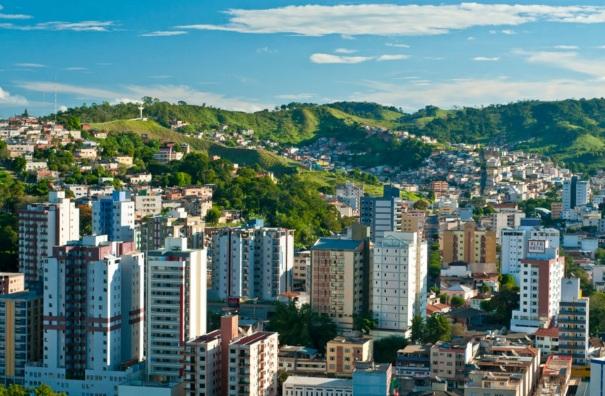 30 de Setembro – Vista panorâmica da cidade — Viçosa (MG) — 146 Anos em 2017.