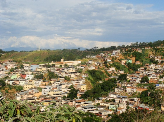 30 de Setembro – Vista parcial da cidade — Viçosa (MG) — 146 Anos em 2017.
