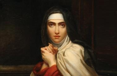 4 de Outubro - 1582 — Teresa de Ávila, freira e santa espanhola (n. 1515).
