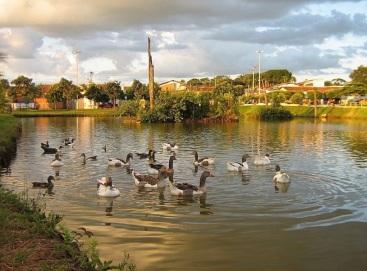 4 de Outubro - Parque Municipal dos Lagos — Frutal (MG) — 130 Anos em 2017.