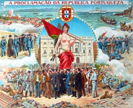 5 de Outubro - 1910 — É proclamada em Lisboa a República Portuguesa, pondo termo a mais de sete séculos de regime monárquico em Portugal (vide Proclamação da República Portugues