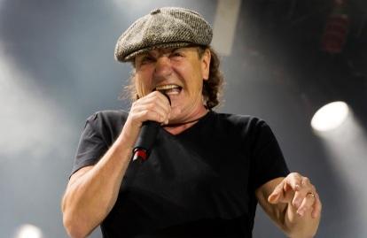 5 de Outubro - 1947 — Brian Johnson, vocalista do AC-DC.