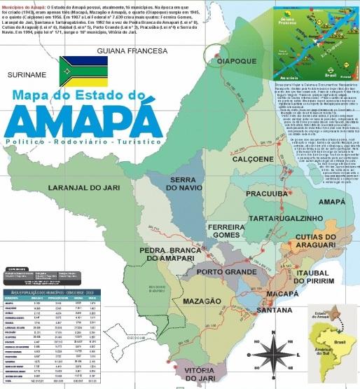 5 de Outubro - 1988 — Promulgada a nova Constituição do Brasil. O território do Amapá é elevado à categoria de estado.
