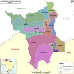5 de Outubro - 1988 — Promulgada a nova Constituição do Brasil. O território do Roraima é elevado à categoria de estado.