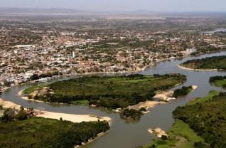 6 de Outubro - Foto aérea da cidade — Cáceres (MT) — 249 Anos em 2017.