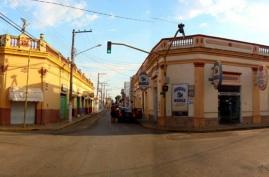 6 de Outubro - Rua da cidade — Cáceres (MT) — 249 Anos em 2017.