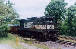 9 de Outubro - Trem da companhia Vale S.A. sendo carregado com minério de ferro na Mina Cauê — Itabira (MG) — 169 Anos em 2017.