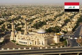 Cidade de Bagdá, capital da Iraque.