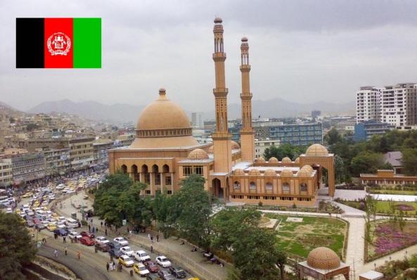 Cidade de Cabul, capital do Afeganistão.