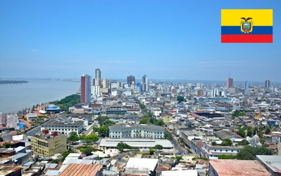 Cidade de Guayaquil, capital do Equador.