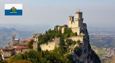 Cidade de San Marino, capital da San Marino.